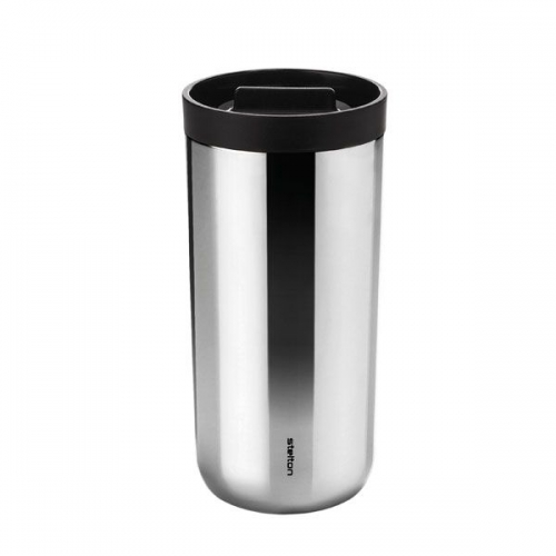 stelton thermotasse to go 2 0 silber. Black Bedroom Furniture Sets. Home Design Ideas