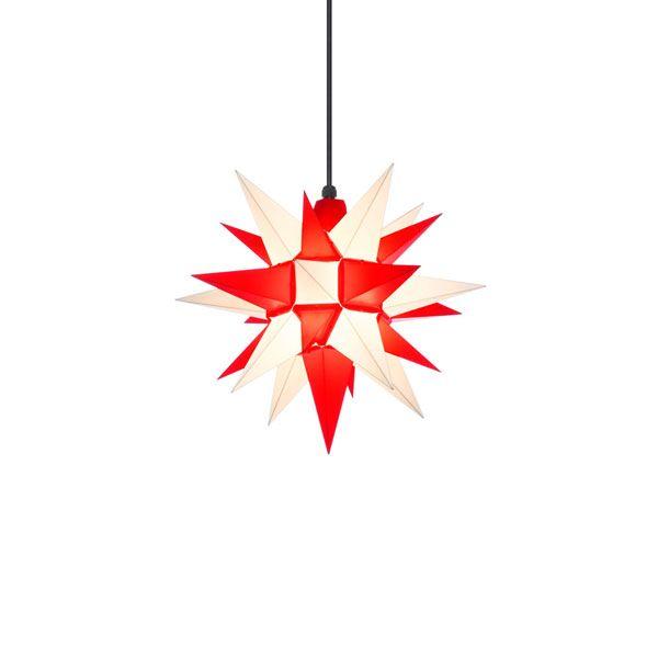 stern a4 kunststoff wei rot 40cm von herrnhuter bei erkmann. Black Bedroom Furniture Sets. Home Design Ideas