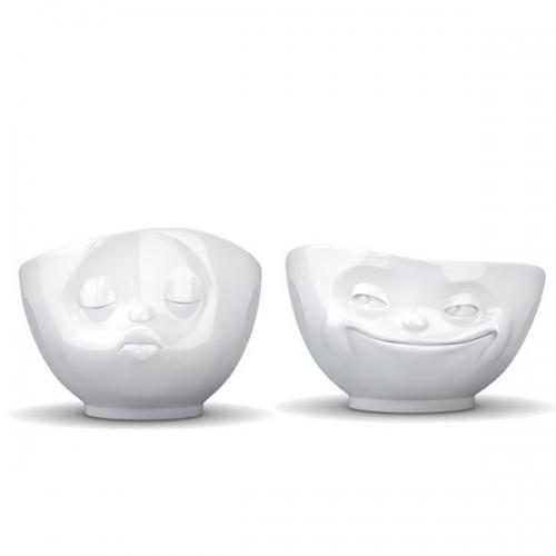 fiftyeight products sch lchen tv tassen k ssend und grinsend klein 2 teilig. Black Bedroom Furniture Sets. Home Design Ideas