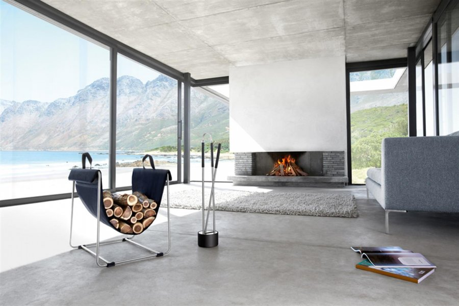 kaminbesteck canneto 3 teilig von blomus. Black Bedroom Furniture Sets. Home Design Ideas