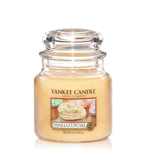 duftkerze vanilla cupcake 411g von yankee candle. Black Bedroom Furniture Sets. Home Design Ideas
