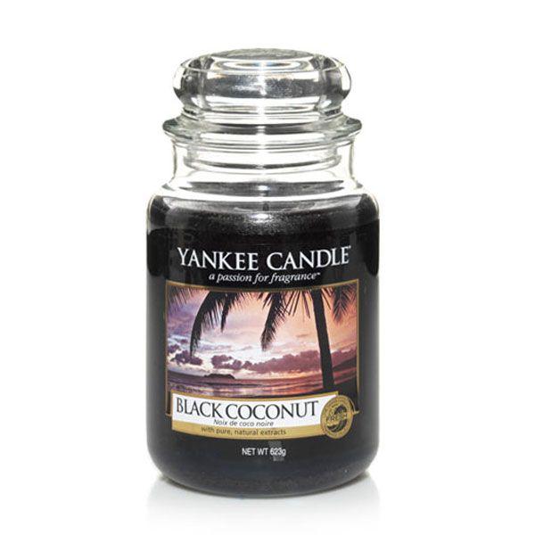 duftkerze black coconut 623g von yankee candle. Black Bedroom Furniture Sets. Home Design Ideas