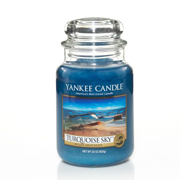 duftkerze turquoise sky 623g von yankee candle. Black Bedroom Furniture Sets. Home Design Ideas
