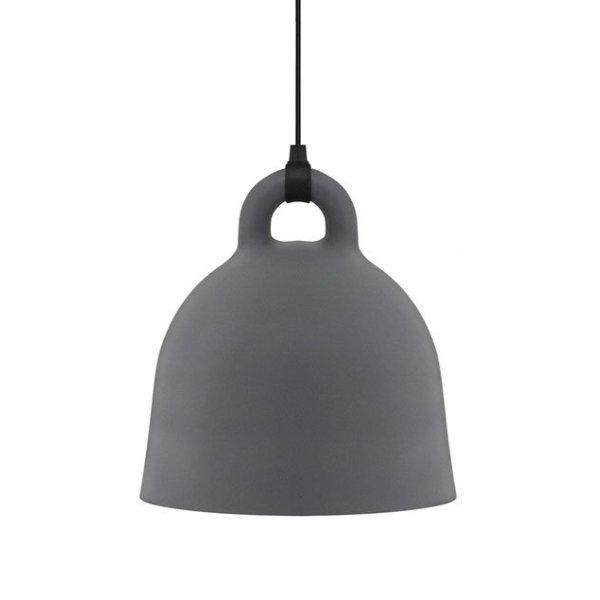 normann copenhagen lampe bell grey s. Black Bedroom Furniture Sets. Home Design Ideas