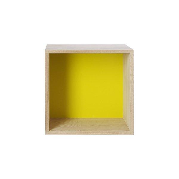 muuto regal mini stacked gelb mittel eur 119 00. Black Bedroom Furniture Sets. Home Design Ideas