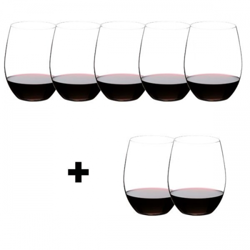 riedel gl ser geschenkset the o cabernet merlot pay 6 get 8. Black Bedroom Furniture Sets. Home Design Ideas