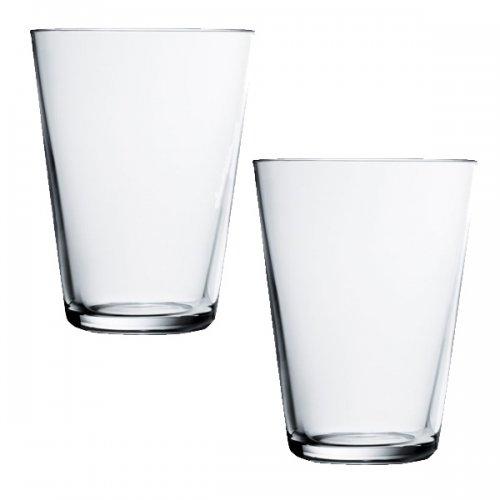 Iittala Gläser wasserglas trinkglas glas kartio klar groß 2er set iittala