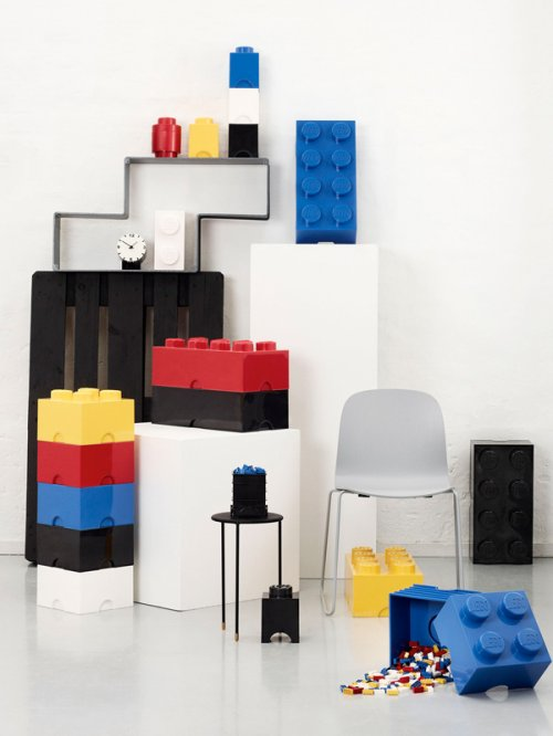 aufbewahrungsbox storage brick 8 wei von lego. Black Bedroom Furniture Sets. Home Design Ideas