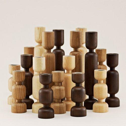 normann copenhagen kerzenleuchter lumberjack eiche. Black Bedroom Furniture Sets. Home Design Ideas