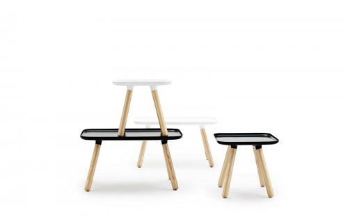 normann copenhagen couchtisch tablo table rechteckig wei. Black Bedroom Furniture Sets. Home Design Ideas