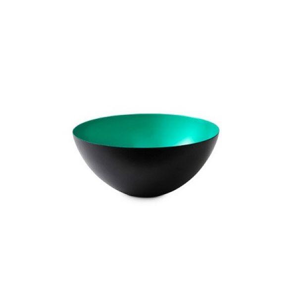 normann copenhagen schale krenit turquoise 8 4cm. Black Bedroom Furniture Sets. Home Design Ideas