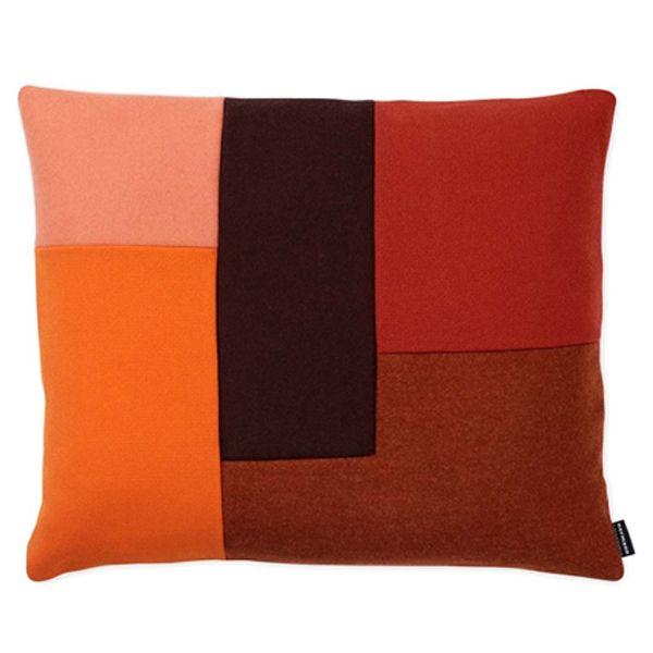 kissen brick cushion orange von normann copenhagen. Black Bedroom Furniture Sets. Home Design Ideas