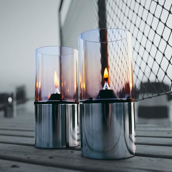 lampe mit glasschirm klar von stelton bei erkmann. Black Bedroom Furniture Sets. Home Design Ideas