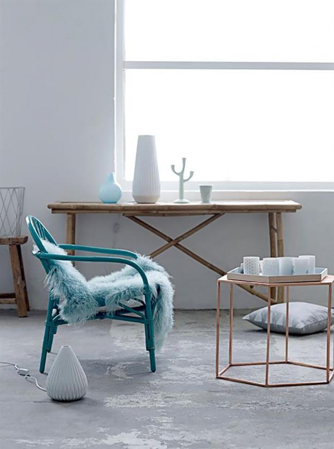 bloomingville kerzenhalter dreiarmig grau gro. Black Bedroom Furniture Sets. Home Design Ideas