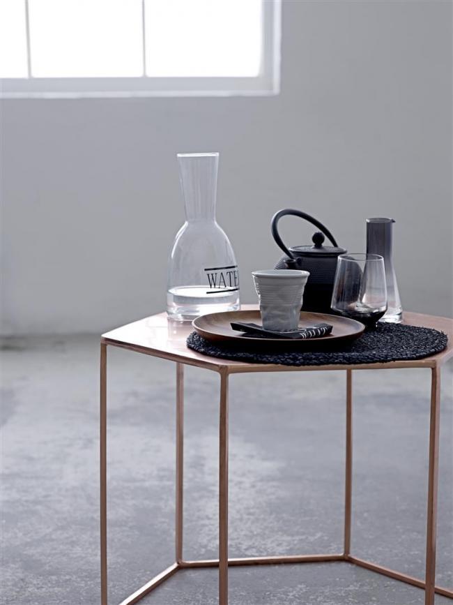 teekanne iron grau von bloomingville. Black Bedroom Furniture Sets. Home Design Ideas