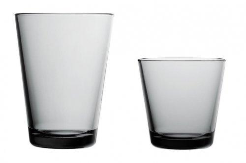 Iittala Gläser glas kartio regenblau groß iittala bei erkmann