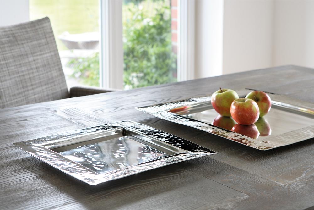 tablett piatto quadratisch klein von fink. Black Bedroom Furniture Sets. Home Design Ideas