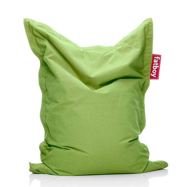 fatboy sitzsack junior stonewashed lime green. Black Bedroom Furniture Sets. Home Design Ideas