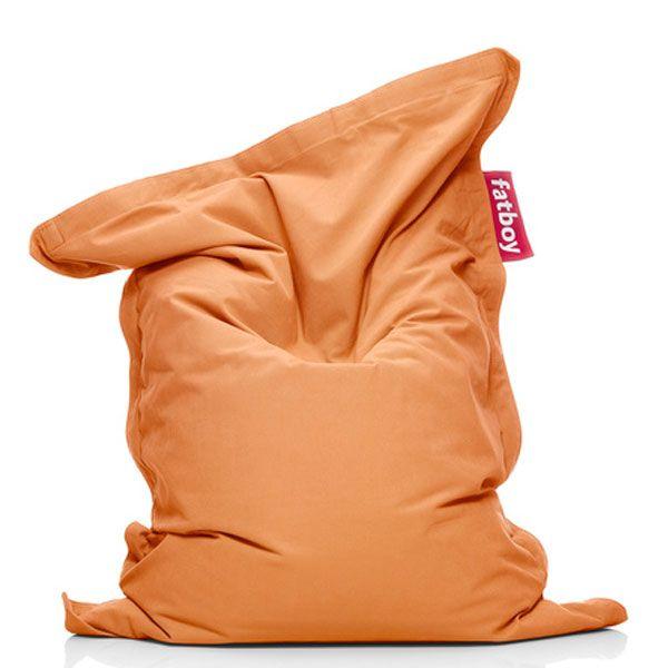 sitzsack junior stonewashed orange von fatboy bei erkmann. Black Bedroom Furniture Sets. Home Design Ideas