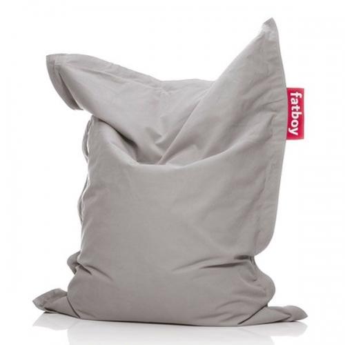 fatboy sitzsack junior stonewashed silver grey. Black Bedroom Furniture Sets. Home Design Ideas