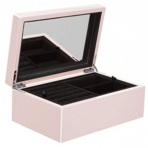 schmuckbox tang mit spiegel rosa klein von gift company. Black Bedroom Furniture Sets. Home Design Ideas
