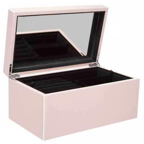 schmuckbox tang mit spiegel rosa gro von gift company. Black Bedroom Furniture Sets. Home Design Ideas