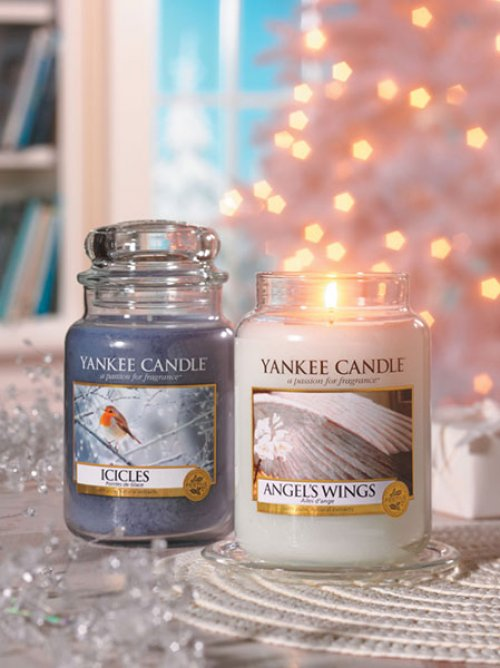 duftkerze icicles 104g von yankee candle bei erkmann. Black Bedroom Furniture Sets. Home Design Ideas