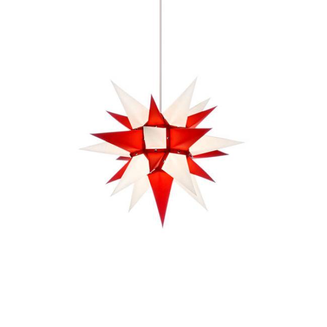 stern i4 papier wei rot 40cm von herrnhuter. Black Bedroom Furniture Sets. Home Design Ideas