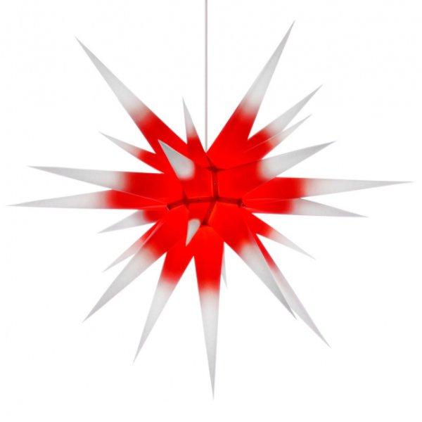 stern i8 papier wei mit rotem kern 80cm von herrnhuter. Black Bedroom Furniture Sets. Home Design Ideas