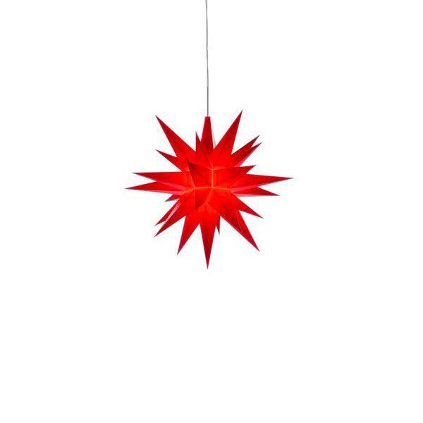 herrnhuter stern a1e kunststoff rot 13cm. Black Bedroom Furniture Sets. Home Design Ideas