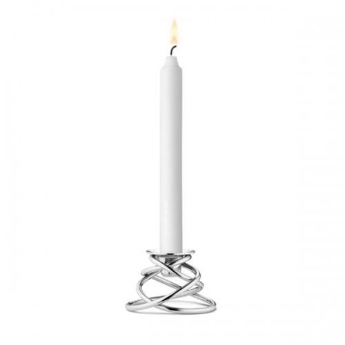 Georg Kerzenhalter kerzenhalter glow silber hoch georg