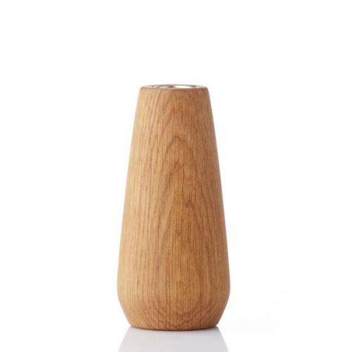 vase torso eiche ge lt mittel von applicata bei erkmann. Black Bedroom Furniture Sets. Home Design Ideas