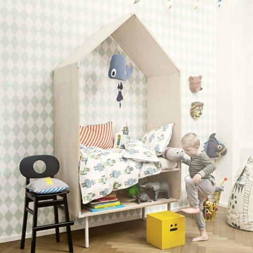 ferm living kissen dog. Black Bedroom Furniture Sets. Home Design Ideas