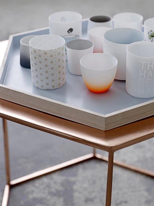 teelichthalter punkte rosa grau orchidee 3 teilig. Black Bedroom Furniture Sets. Home Design Ideas