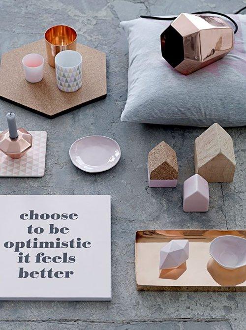 bloomingville teelichthalter dreiecke und punkte 2 teilig. Black Bedroom Furniture Sets. Home Design Ideas