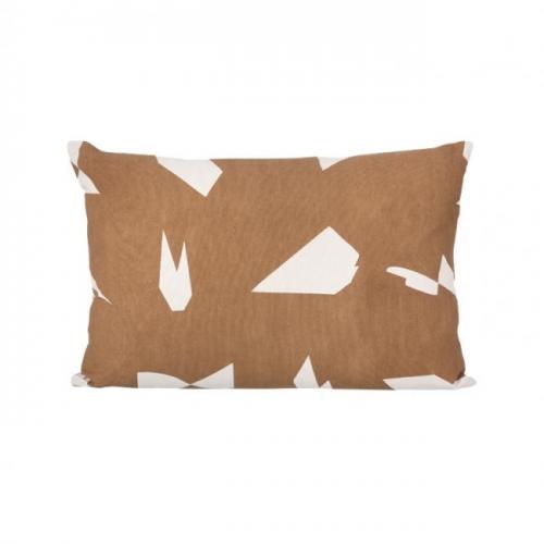 ferm living kissen cut braun. Black Bedroom Furniture Sets. Home Design Ideas