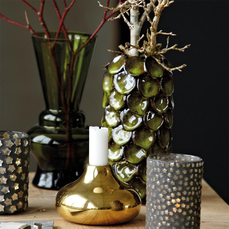 blumenvase vase dot klein aus keramik von house doctor. Black Bedroom Furniture Sets. Home Design Ideas