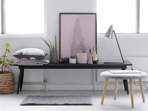 bild mit rahmen new york von bloomingville. Black Bedroom Furniture Sets. Home Design Ideas