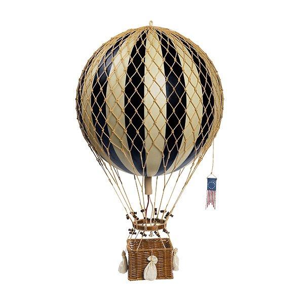 ballon royal aero schwarz 32cm von authentic models. Black Bedroom Furniture Sets. Home Design Ideas