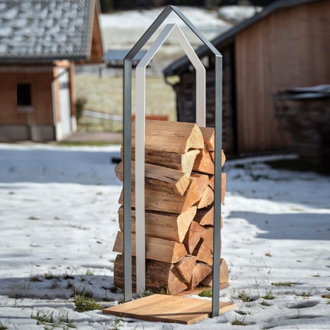 kaminholzgestell holzh tte anthrazit von designimdorf. Black Bedroom Furniture Sets. Home Design Ideas