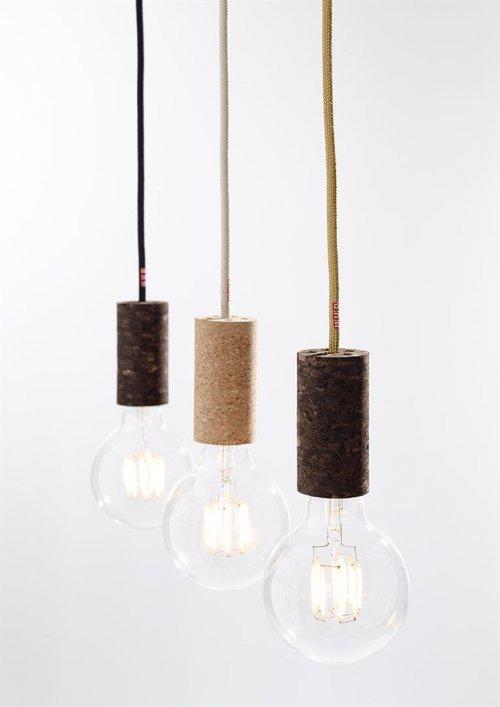 pendelleuchte cork soil rhododendron von nud collection. Black Bedroom Furniture Sets. Home Design Ideas