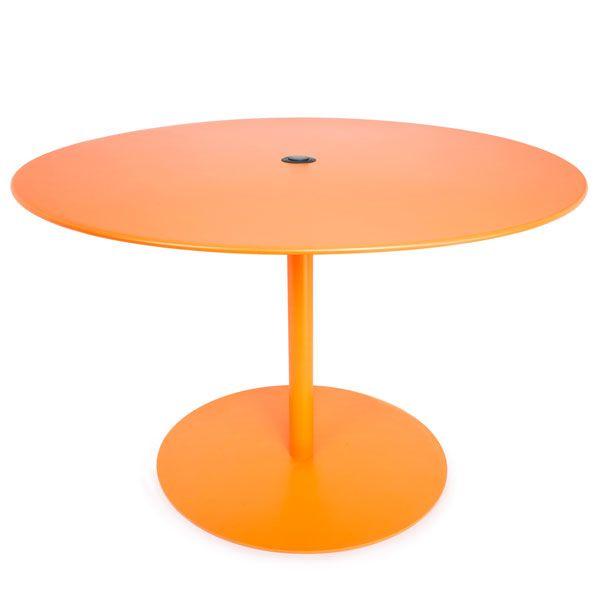 Fatboy beistelltisch formitable xl orange for Beistelltisch orange