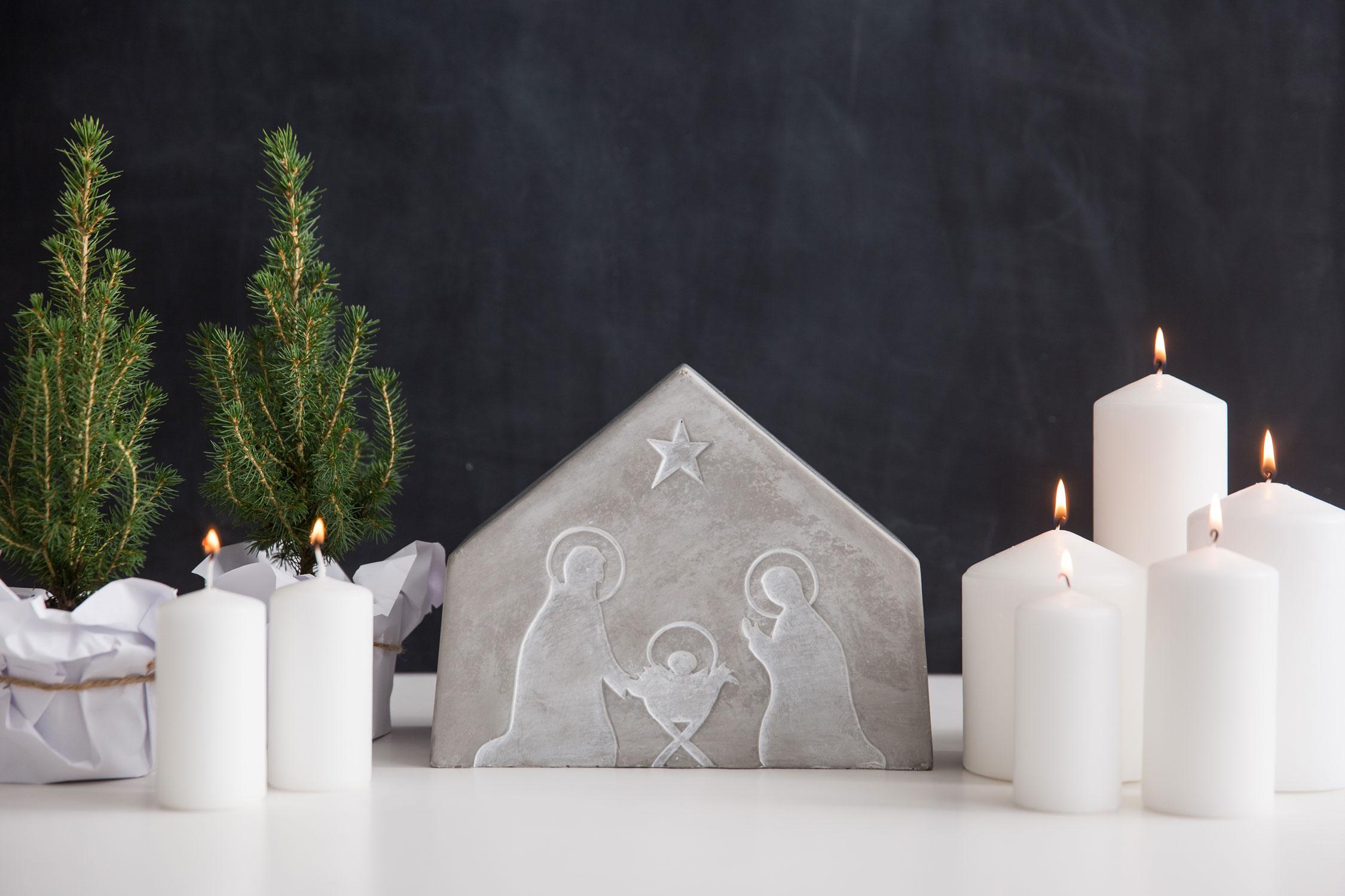 r der weihnachtskrippe winterluft von r der design. Black Bedroom Furniture Sets. Home Design Ideas
