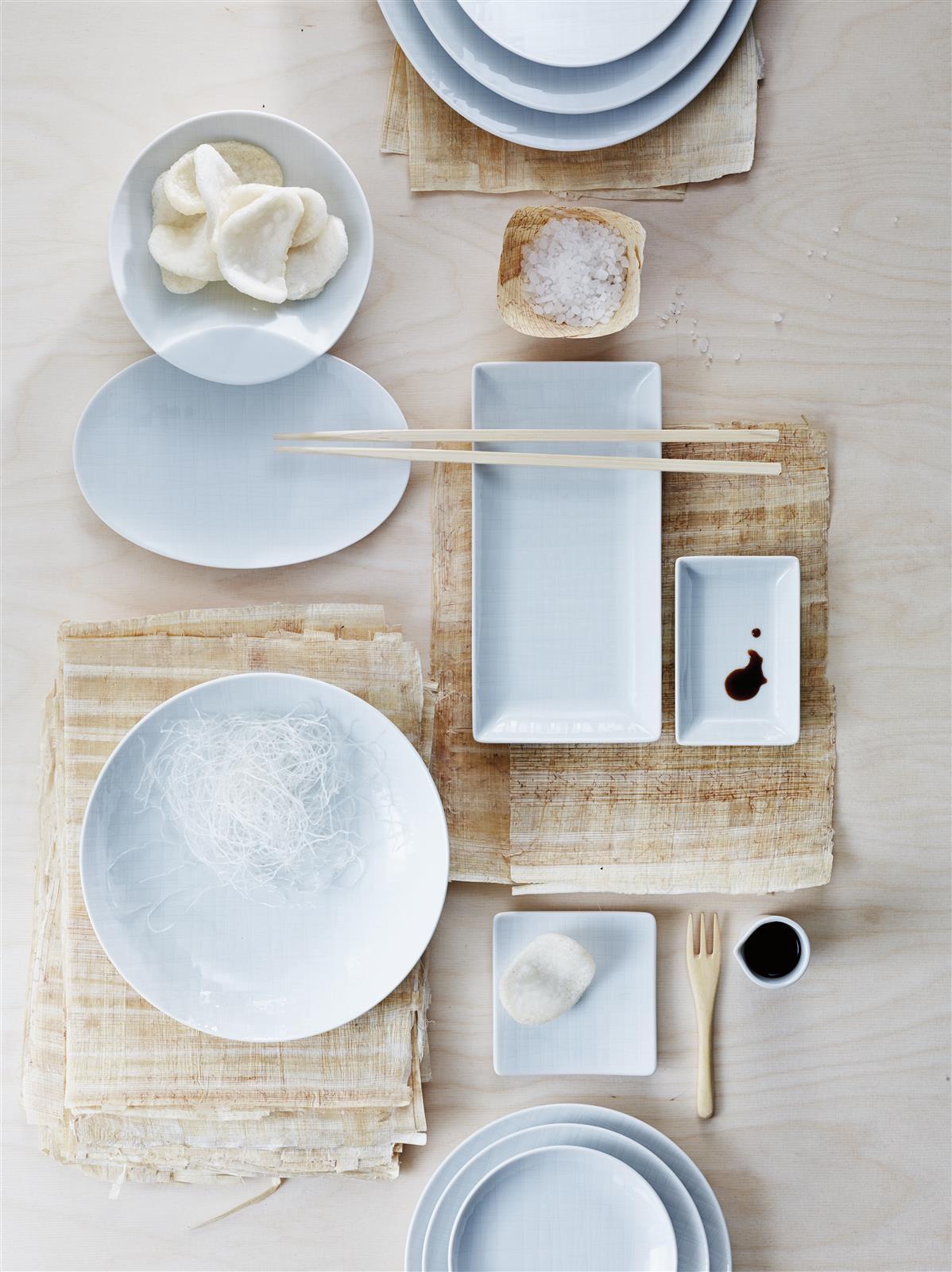 geschirr set mesh 16 teilig von rosenthal. Black Bedroom Furniture Sets. Home Design Ideas