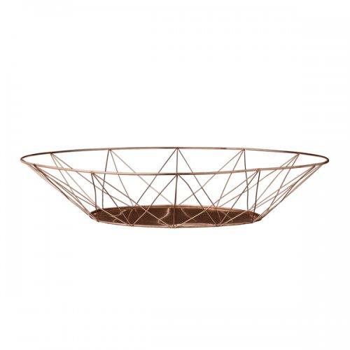 bloomingville korb gold 43cm eur 31 00. Black Bedroom Furniture Sets. Home Design Ideas
