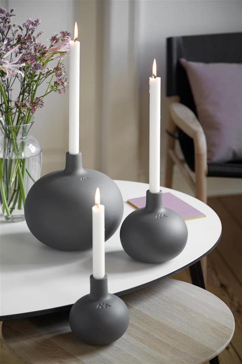 kerzenhalter globo 12cm von k hler design. Black Bedroom Furniture Sets. Home Design Ideas