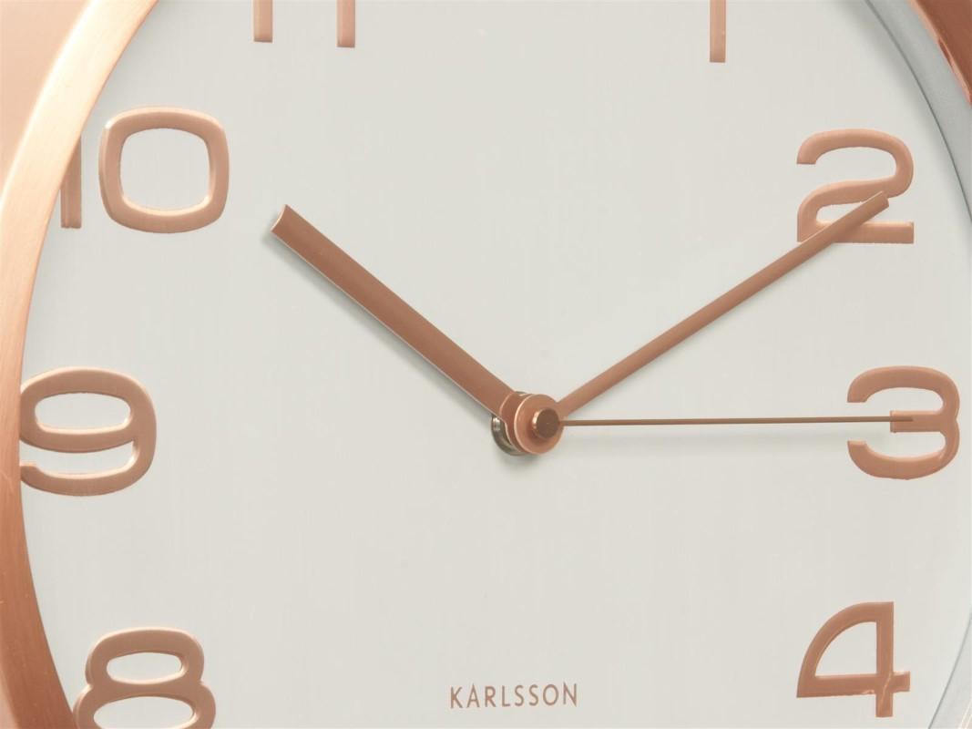 Karlsson Wanduhr wanduhr maxie copper white karlsson