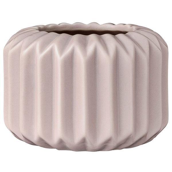 bloomingville teelichthalter fluted mauve. Black Bedroom Furniture Sets. Home Design Ideas