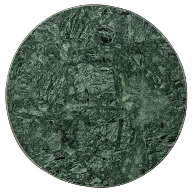 bloomingville tablett rund marmor gr n. Black Bedroom Furniture Sets. Home Design Ideas