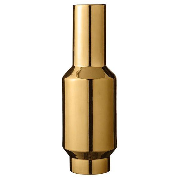 bloomingville vase gold 43cm. Black Bedroom Furniture Sets. Home Design Ideas